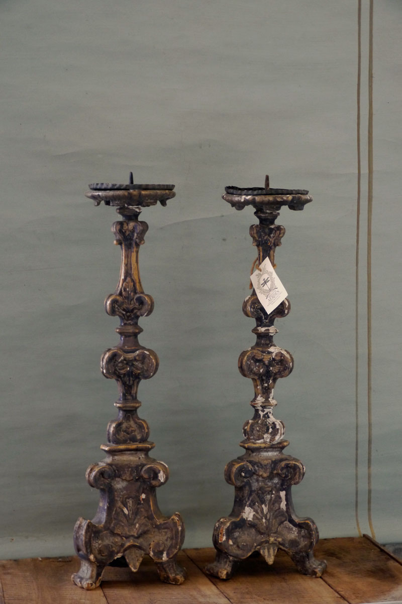 Pair of Candleholders